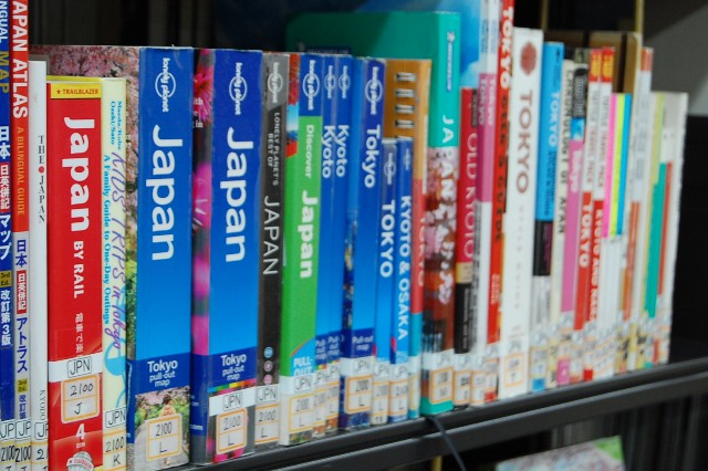 Books on Japanコーナー